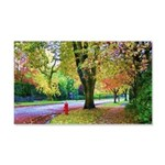 Autumn in Vancouver 20x12 Wall Decal
