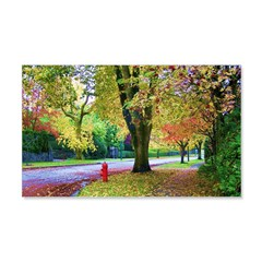 Autumn in Vancouver Decal Wall Sticker