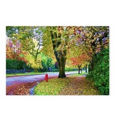 Autumn in Vancouver Postcards (Package of 8)