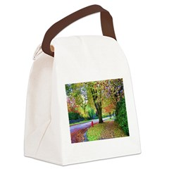 Autumn in Vancouver Canvas Lunch Bag