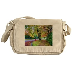 Autumn in Vancouver Messenger Bag