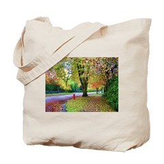 Autumn in Vancouver Tote Bag