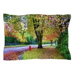 Autumn in Vancouver Pillow Case