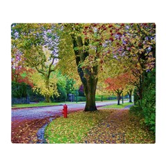 Autumn in Vancouver Throw Blanket