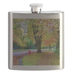 Autumn in Vancouver Flask