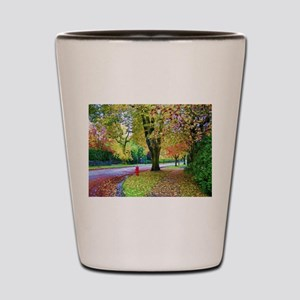 Autumn in Vancouver Shot Glass