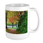 Autumn in Vancouver Large Mug