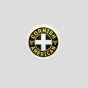 Cornish American Flag Ensign Mini Button