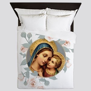 Our Lady of Good Remedy Queen Duvet