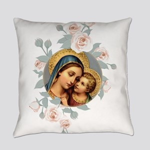 Our Lady of Good Remedy Everyday Pillow