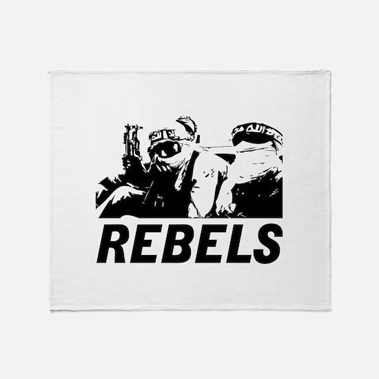 Rebels Throw Blanket