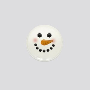 Snow Woman Mini Button