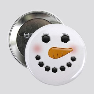 """Snow Woman 2.25"""" Button (10 pack)"""