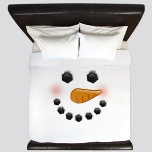 Snow Woman King Duvet