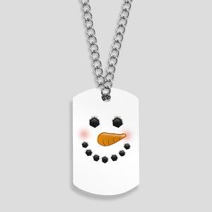 Snow Woman Dog Tags