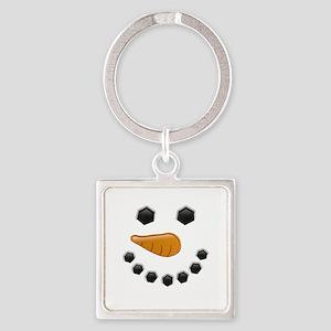 Snowman Face Keychains