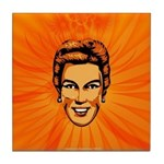 Clip-Art Connie Tile Coaster