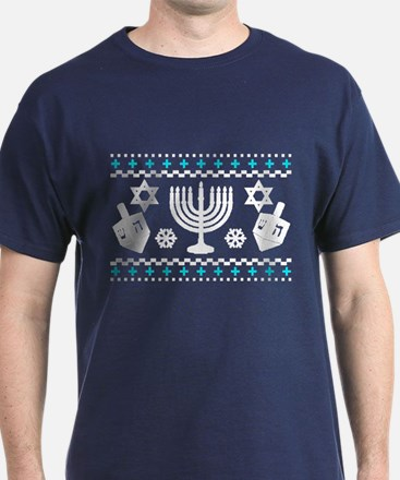 Funny Hanukkah Ugly Sweater T-Shirt