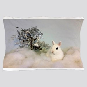 Hotot in Snow Pillow Case