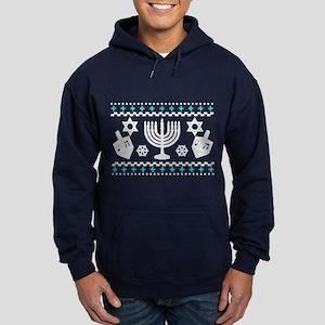 Funny Hanukkah Ugly Sweater Hoodie