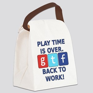 "A Social Media Critic's ""Play Tim Canvas Lunch Bag"