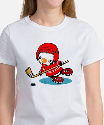 Ice Hockey Penguin (R) T-Shirt