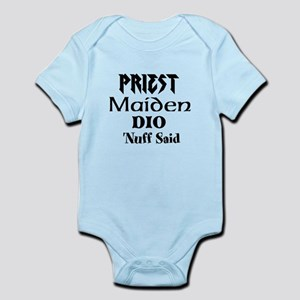 The Holy Trinity of Metal Infant Bodysuit
