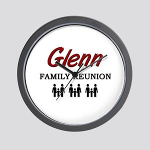 Glenn Family Reunion Wall Clock