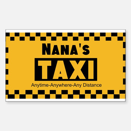 Nanas Going The Distance Taxi Decal
