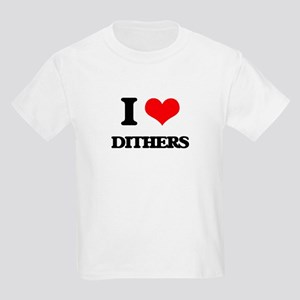 I Love Dithers T-Shirt