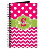 Pink and green Journals & Spiral Notebooks