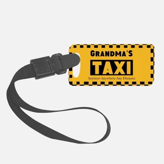 Grandma Taxi Luggage Tag