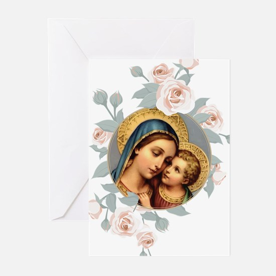 Our Lady of Good Remedy Greeting Cards