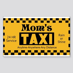 Moms Taxi Sticker
