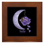 Thorned Moon Framed Tile