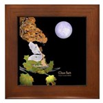 Moon Bath Framed Tile