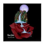 Rose Falls Art Tile Coaster