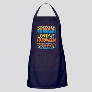 This Firefighter Loves 31st Oct Hallo Apron (dark)