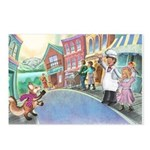 Frieda Tails Postcards (package Of 8)