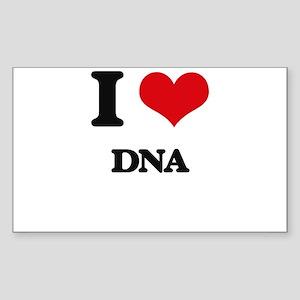 I Love DNA Sticker