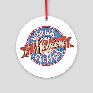 Memere Ornament (Round)