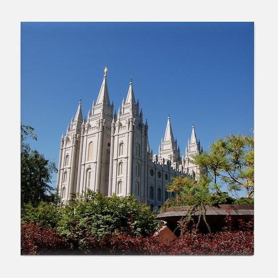 Salt Lake Temple, Plaza View Tile Coaster