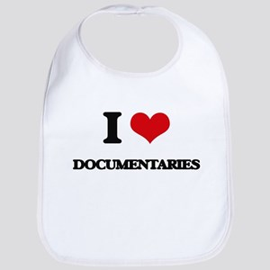 I Love Documentaries Bib