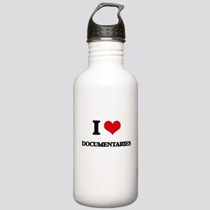 I Love Documentaries Stainless Water Bottle 1.0L