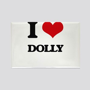 I Love Dolly Magnets