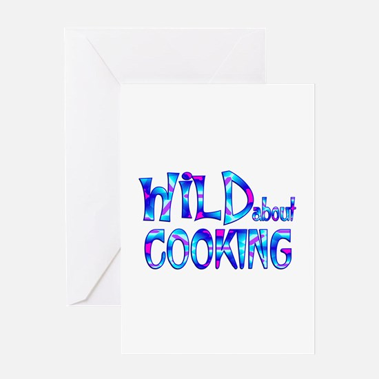 Wild About Cooking Greeting Cards