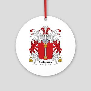 Colonna Ornament (Round)