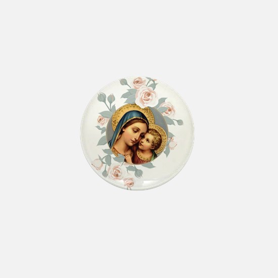 Our Lady of Good Remedy Mini Button