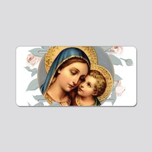 Our Lady of Good Remedy Aluminum License Plate