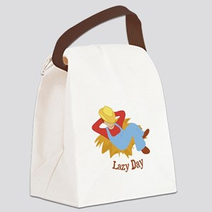 Lazy Day Canvas Lunch Bag